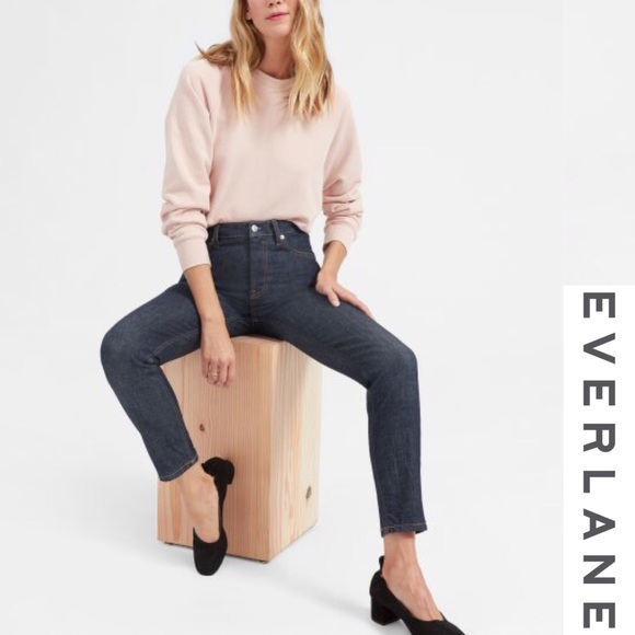 Everlane Denim - Everlane Dark Wash High Rise Skinny Jeans